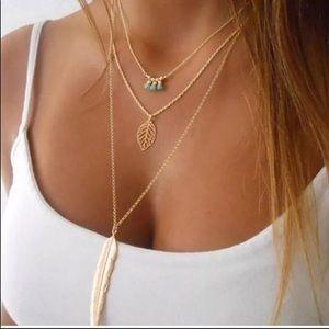 Bohemian Layered Necklace